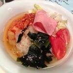 honkakuyakinikujukouenamatsubo - 冷麺