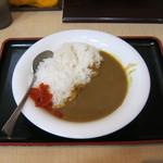 箱根そば - 「カレーライス」です。