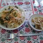 アジア料理 シージャン - ランチのサラダ
