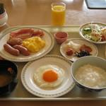 ANAクラウンプラザホテル稚内 - 朝食の一例です。
