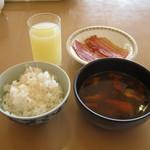 ANAクラウンプラザホテル稚内 - 「スープカレー」がありました。