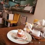 ふれぇずりぃあんくる - シュークリームと苺ラテ
