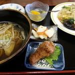 桃仙 - 八宝菜定食