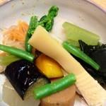 18447526 - 春野菜の煮物
