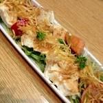18447556 - 自家製豆腐のサラダ