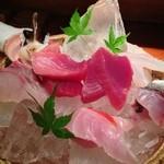 魚 しんのすけ - 刺し盛り