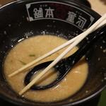 河童ラーメン本舗 - ほぼ完食しちゃった☆スープもあと少しでしたm(__)m