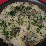 グラナダ - バスク風の浅蜊炊き込みご飯
