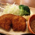 1845833 - ランチお魚コース(白身魚の香草パン粉揚げ)