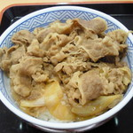 吉野家 - 「牛丼」(並盛280円)