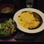 Mahoroba - オムライス 680円