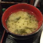 Mahoroba - 味噌汁