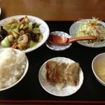 中華料理 金盛園 - 八宝菜とセット