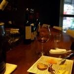 清風明月 - ツレの赤ワイン(5杯目)