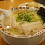 赤穂らーめん麺坊 - 赤穂塩ラーメン・麺大盛り