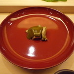 鮨 生粋 - 鮑蒸し物