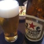18461230 - 瓶ビール赤星(550円)