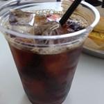 405 CAFE - 本格派の深煎りアイスコーヒー。