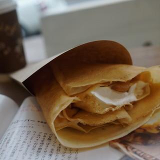 クローバー - 料理写真:キャラメルアップル生クリーム