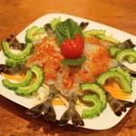 タイ料理 ディーディー - 2013.4 クンチェーナンプラー(1,200円)生海老のナンプラー漬