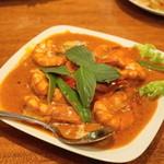 タイ料理 ディーディー - 2013.4 チューシークン(1,500円)海老のカレー