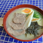 あおぞら - 特製ラーメン900円 柚子胡椒付