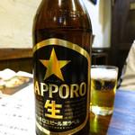 炭焼 鳥佳 - 瓶ビール大550円