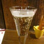 イタリアンバル 小麦 - ヴァッリ・ブルット・グラス@450円