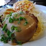 ひやけ - ハンバーグごま味噌ソースと野菜のフリット