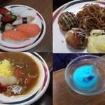 18469145 - 寿司、デザート、惣菜、サラダ、飯麺、揃っています。