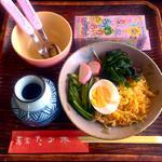 蕎楽 たか木 - お子様たぬき(おもちゃ付) ¥450