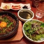 韓国料理 水刺齋 高島屋タイムズスクエア店 - プルコギビビンパ
