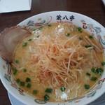 蔵八ラーメン亭 - 白味噌ネギラーメン