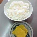 まるたかラーメン - 小ごはん_100円