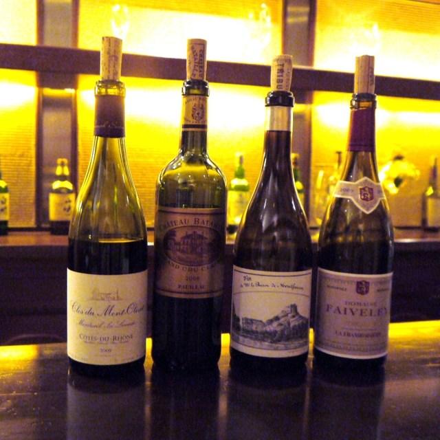 ランブロワジー - 今日のグラスワインはこの4本です