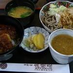 庄境屋 - 料理写真:「かつ丼セット」1,000円