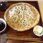 シロクマ食堂 - もり蕎麦 700円