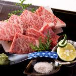 美食 個室・炭火焼・ワイン 縁 - A5ランク霜降り神戸牛の炙り焼き【個体識別番号有】霜降りの柔らかさと甘さを是非ご堪能下さいませ。霜降り和牛に合うワインも多数ご用意してお待ちしております