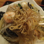 横浜中華料理 和香佐 - 細麺CloseUp