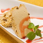 美食 個室・炭火焼・ワイン 縁 - 豆乳と黒糖の濃厚レアチーズケーキ