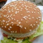 BUNNY×2 - 基本のハンバーガー(\330)