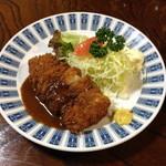 ハチロー - ランチのチキンカツ定食(700円)2013年4月