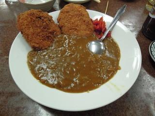 三ちゃん食堂 - コロッケカレーライス抜き(裏メニューらしい)