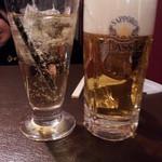 18484193 - 飲み放題の最初は鉄板の「サッポロクラッシック」