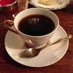 ブラジルコーヒー商会 - ブレンドコーヒー。カップはさすが喫茶店。本日のコーヒーもあるようでした。