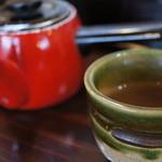 俵山湧水そば - 2013.04そば茶がうまい。