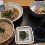 18488154 - 浅蜊ご飯セット¥1,500