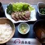源喜屋 - 白金豚ヒレステーキ定食