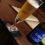地ビール 瑠璃(650円)