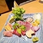 サカトリーナ - 魚鶏菜(サカトリーナ)造り盛り合わせ